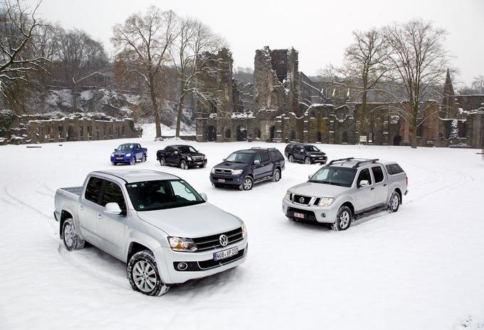 Isuzu D-Max, Mazda BT-50, Mitsubishi L200, Nissan Navara, Toyota Hilux & Volkswagen Amarok #1