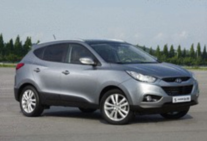 Hyundai ix35 1.7 CRDi & Mitsubishi ASX 1.8 DI-D 115 : Illusions d'optique #1