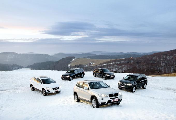 Mercedes GLK 220 CDI 4Matic, Volvo XC60 D3, Audi Q5 2.0 TDI 170, Land Rover Freelander TD4 et BMW X3 20d xDrive : La nouvelle classe moyenne #1