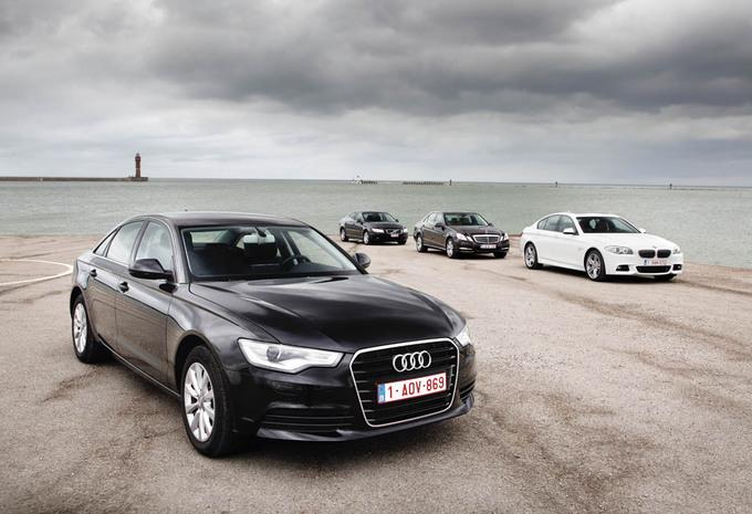 Audi A6 2.0 TDI, BMW 520d, Mercedes E 220 CDI, Volvo S80 D3 : Le beurre, l'argent du beurre #1