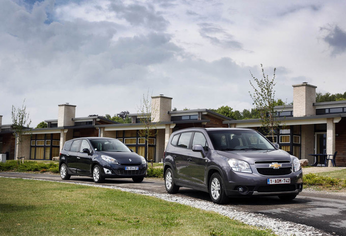 Chevrolet Orlando vs Renault Grand Scénic : Duel de familles #1