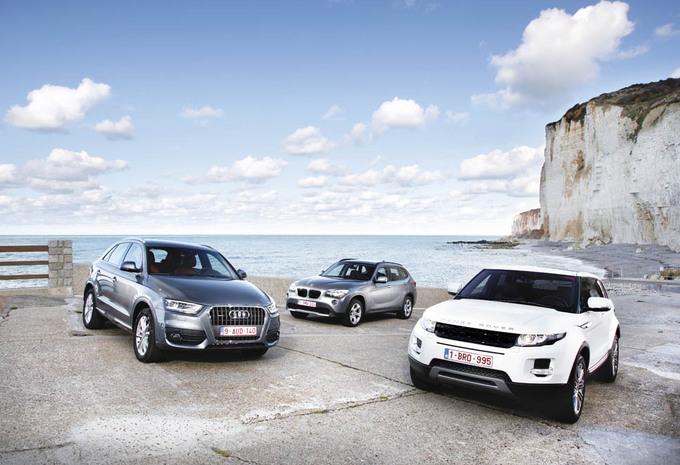 Audi Q3, BMW X1 & Range Rover Evoque : Tendance à la baisse #1