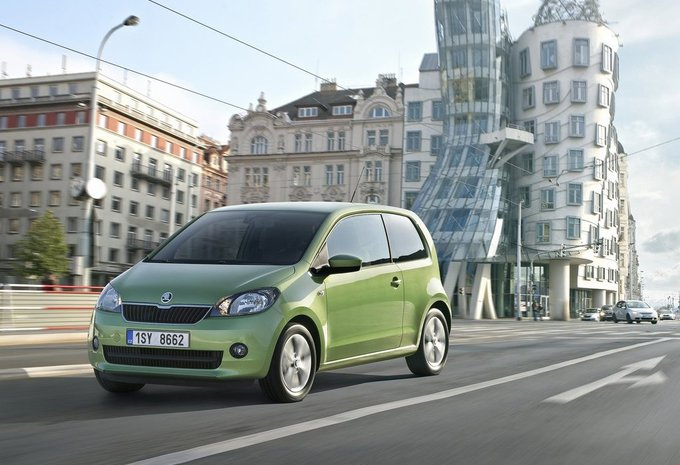 images skoda citigo moniteur automobile. Black Bedroom Furniture Sets. Home Design Ideas