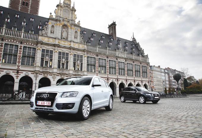 Audi Q5 Hybrid vs 3.0 TDI : Promesses sur papier carbone #1