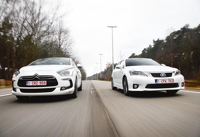 Citroën DS5 HYbrid4 vs Lexus CT 200h : Duel hybride #1