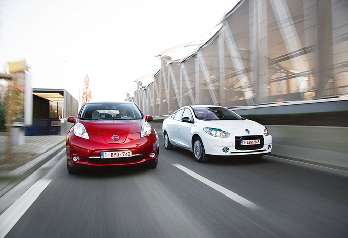 Nissan Leaf vs Renault Fluence Z.E. : Sous leafluence des thermiques #1
