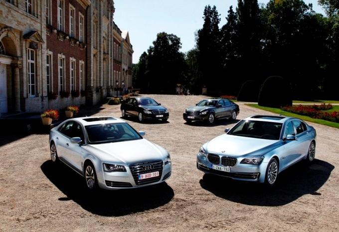 Audi A8 Hybrid, BMW ActiveHybrid 7, Infiniti M35h et Mercedes S 400 Hybrid : Les investisseurs #1