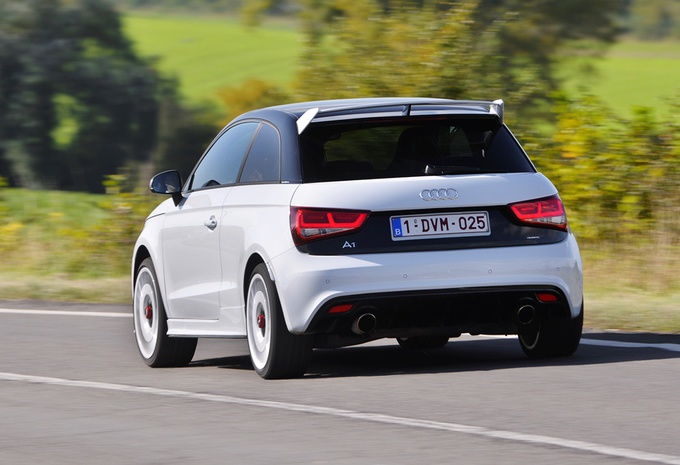 images audi a1 quattro moniteur automobile. Black Bedroom Furniture Sets. Home Design Ideas