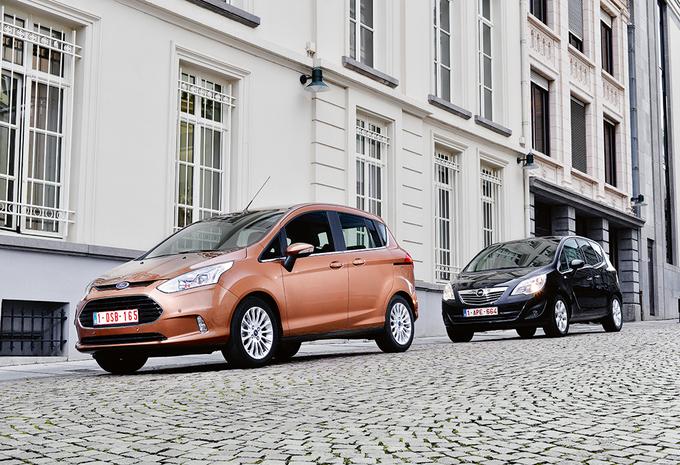 Ford B-Max 1.6 TDCi 95 & Opel Meriva 1.3 CDTI 95 : Journée portes ouvertes #1