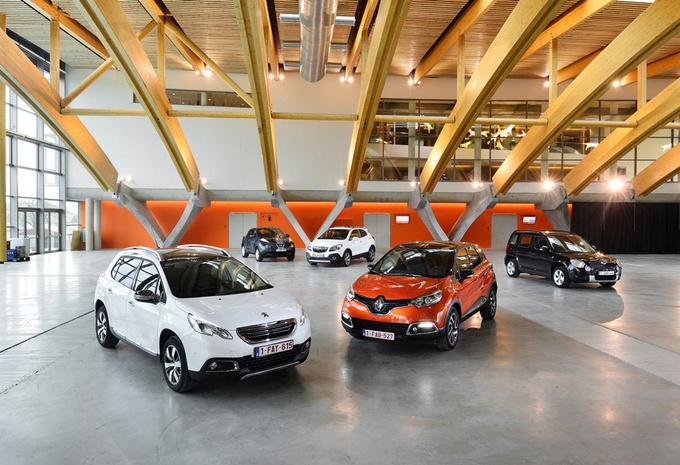 Nissan Juke 1.5 dCi110, Opel Mokka 1.7 CDTI, Peugeot 2008 1.6 e-HDI 115, Renault Captur1.5 dCi 90 et Skoda Yeti 1.6 TDI 105 : Baby boomers #1