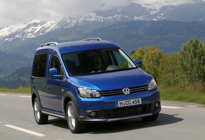 Volkswagen Cross Caddy #1