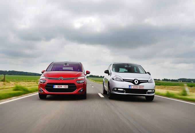 Citroën C4 Picasso 1.6 e-HDi vs Renault Scénic 1.5 dCi : Des normes & des formes #1