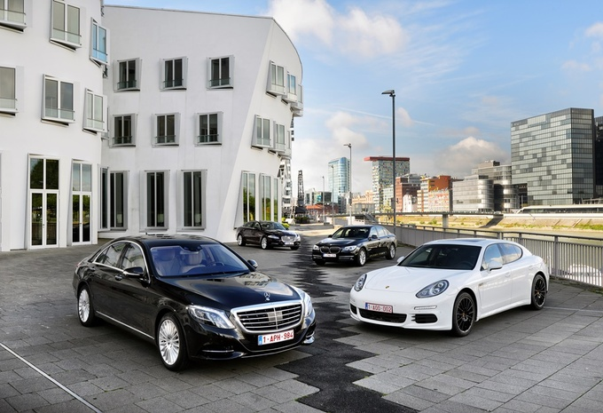 BMW 730d, Jaguar XJ 3.0 TD, Mercedes S 350 BlueTEC et Porsche Panamera Diesel : Au sommet de son art #1
