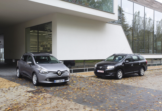Dacia Logan MCV 1.5 dCi vs Renault Clio GrandTour 1.5 dCi : Lutte fratricide #1