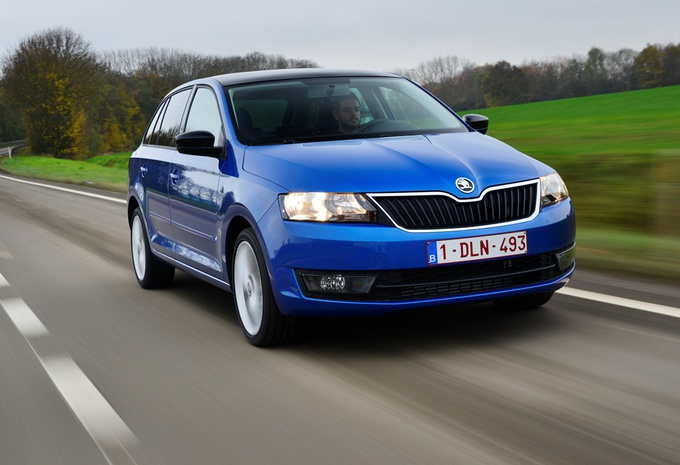 Skoda Rapid Spaceback 1.6 TDI 105 #1