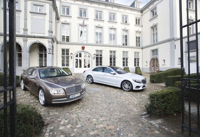 Bentley Flying Spur W12 vs Mercedes S 500 L : Charme britannique, luxe allemand  #1