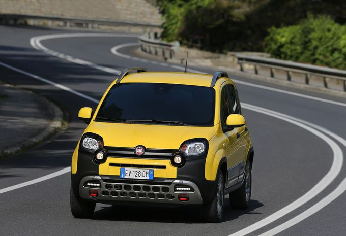 images fiat panda cross moniteur automobile. Black Bedroom Furniture Sets. Home Design Ideas