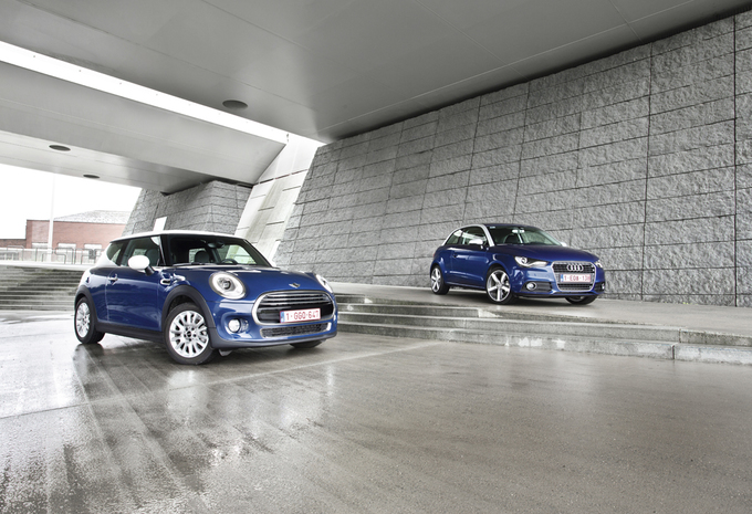 Test Audi A1 16 Tdi 105 Vs Mini One D Autogids