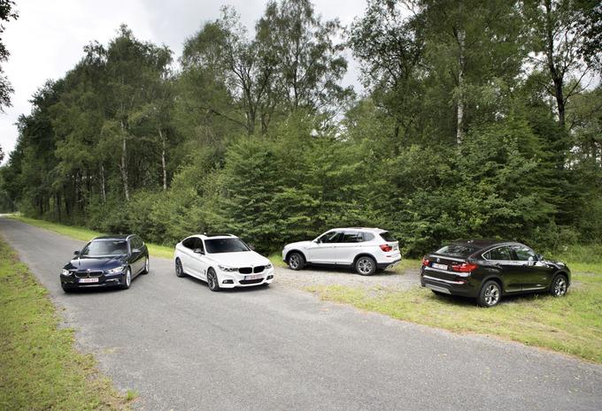 BMW 320d Touring, BMW 320d Gran Turismo, BMW X3 20d et BMW X4 20d : L'embarras du choix #1