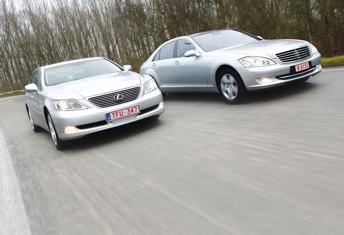 LEXUS LS 460 • MERCEDES S 500 : Sterrenslag #1