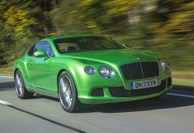 BENTLEY CONTINENTAL GT SPEED (2012) #1