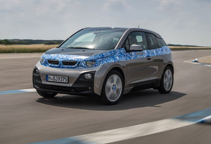 BMW i3 (2013) - Prototypetest #1