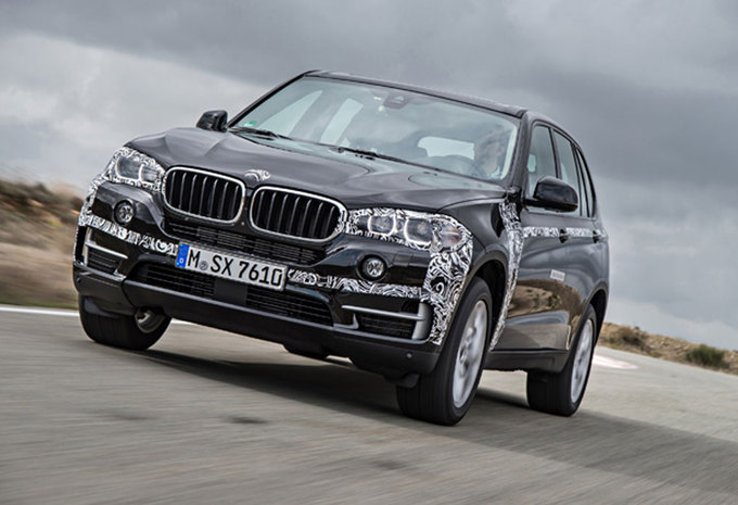 test prototypetest bmw x5 plug in hybrid 2014 autowereld. Black Bedroom Furniture Sets. Home Design Ideas