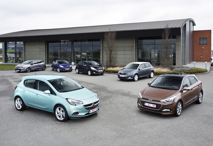Ford Fiesta 1.0 EcoBoost, Hyundai i20 1.2, Opel Corsa 1.0 Turbo ecoFlex, Peugeot 208 1.2 PureTech, Renault Clio 0.9 TCe en ŠŠkoda Fabia 1.2 TSI : Turbo generatie #1