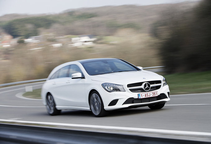 Test Mercedes Cla 200 Cdi Shooting Brake Autogids
