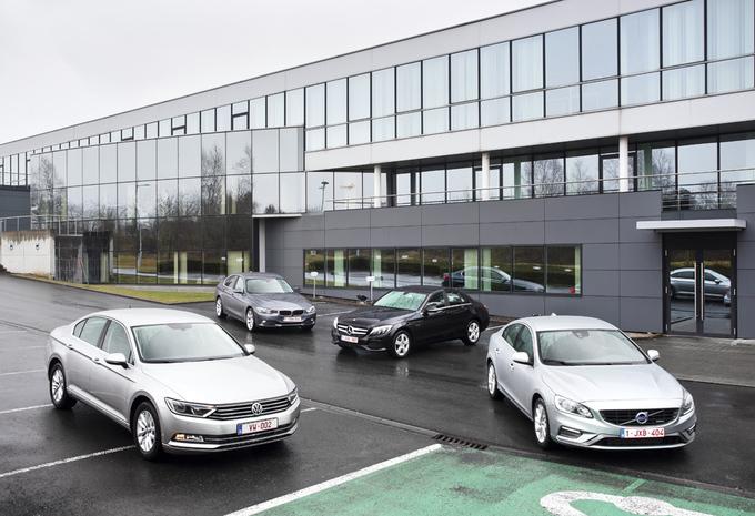 BMW 316d, Mercedes C180 BlueTEC, Volkswagen Passat 1.6 TDI BlueMotion et Volvo S60 D2 : La nouvelle classe affaires #1