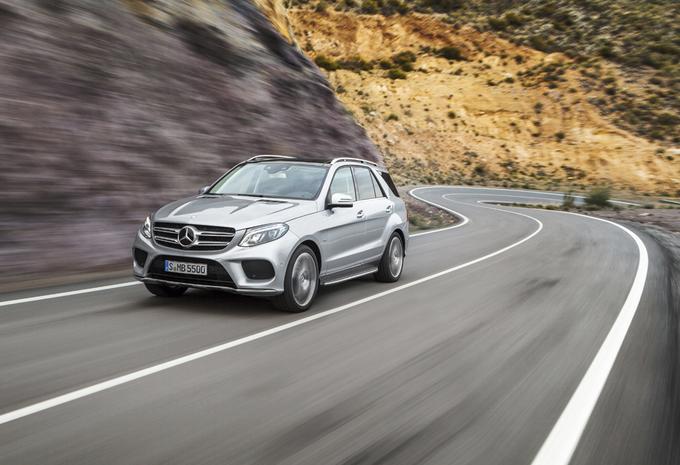 Mercedes GLE: met de stroom mee #1