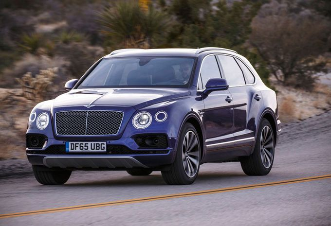 essai bentley bentayga 2016 moniteur automobile. Black Bedroom Furniture Sets. Home Design Ideas