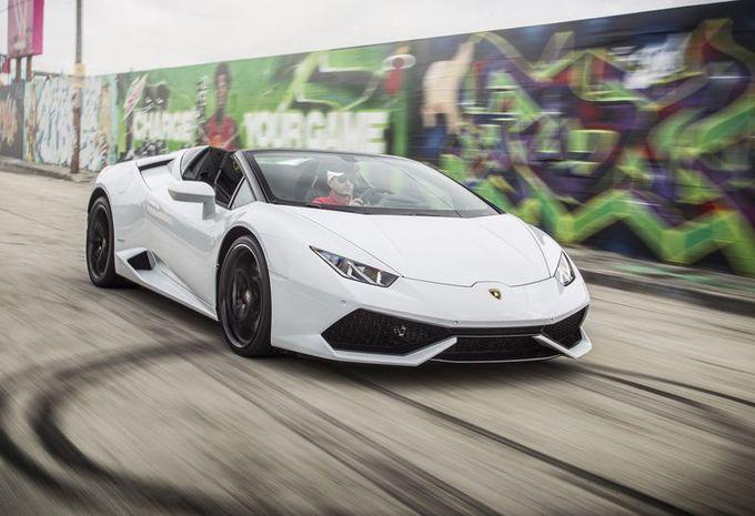 Lamborghini Huracán Spyder: beschaafde furie #1