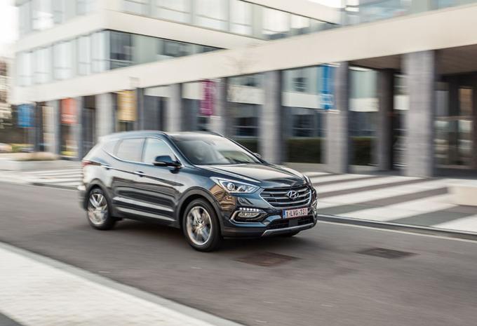 Hyundai Santa Fe : SUV antistress #1
