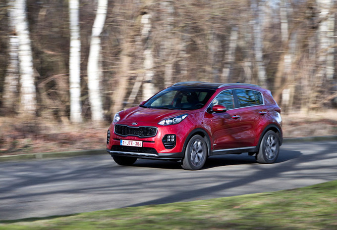 Kia Sportage 1.6 T A : Petit mais costaud #1