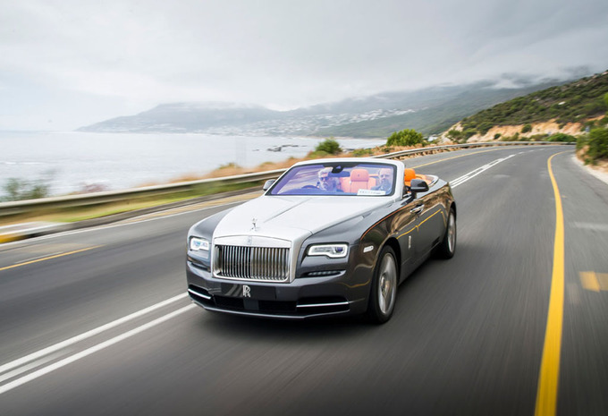 Rolls-Royce Dawn : Goud in de mond #1