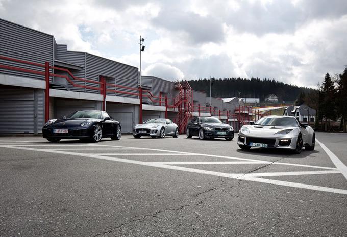 Porsche 911 Carrera A tegen drie concurrenten : Pret verzekerd #1