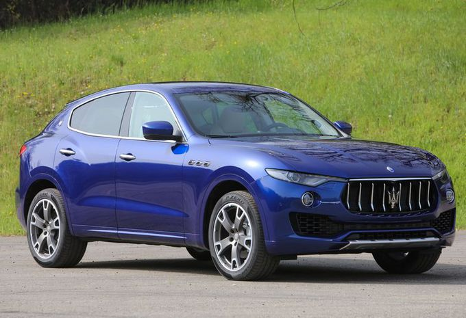 images maserati prend de la hauteur avec le suv levante moniteur automobile. Black Bedroom Furniture Sets. Home Design Ideas