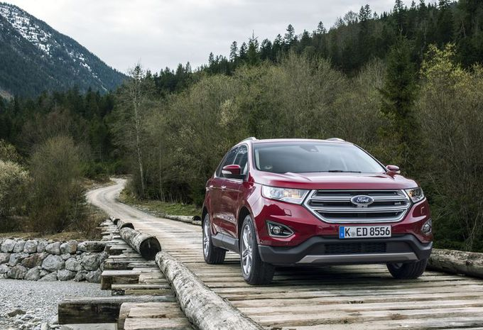 Ford Edge : un précieux Américain pour l'Europe  #1