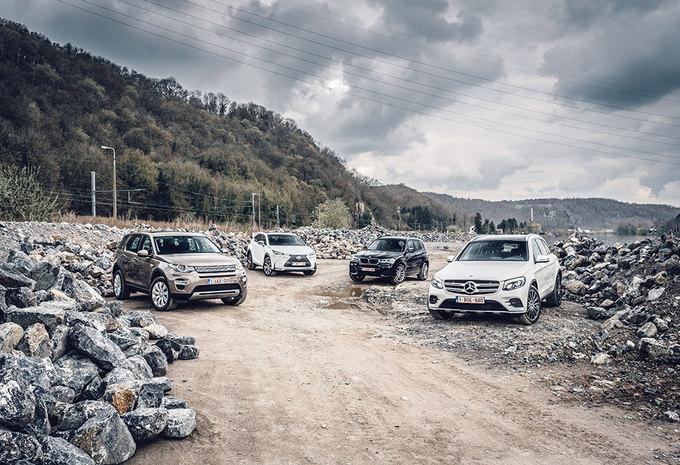 BMW X3 2.0d // LAND ROVER DISCOVERY SPORT 2.0D // LEXUS NX 300h // MERCEDES GLC 250 d : Buiten de hokjes kleuren #1