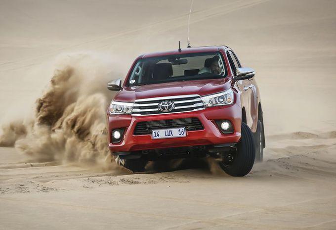 Toyota Hilux : même sophistiqué, il reste un dur  #1