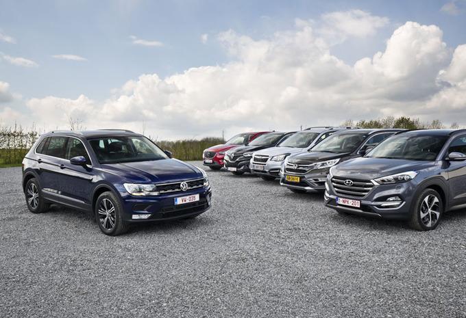 Volkswagen Tiguan tegen 5 middenklasse-SUV's #1