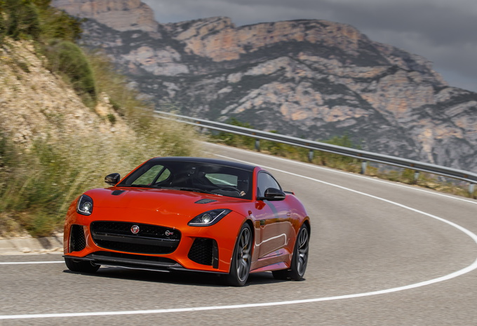 Jaguar F-Type SVR (2016) #1