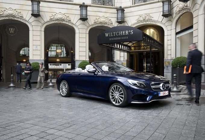 Mercedes S500 Cabriolet : Prestigieux écrin #1