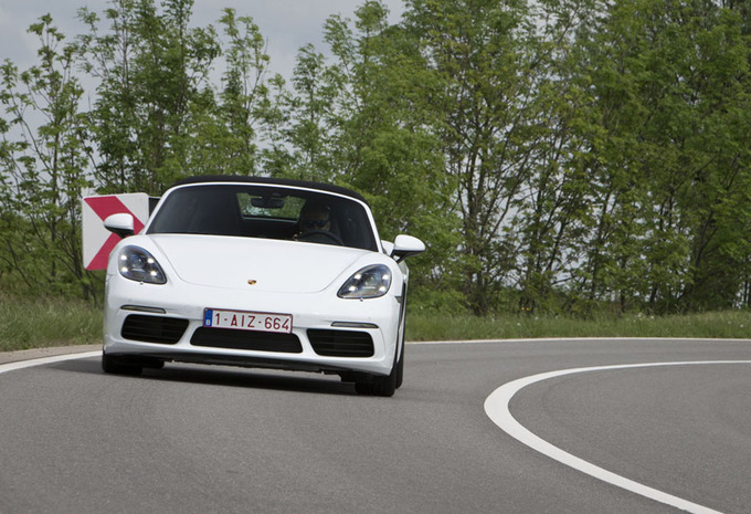 Porsche 718 Boxster : Une bonne base #1