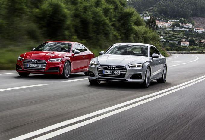 Audi A5 et S5 : formes et réforme #1