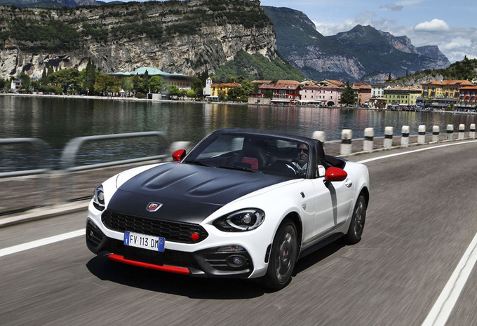 Abarth 124 Spider : Blufpoker #1