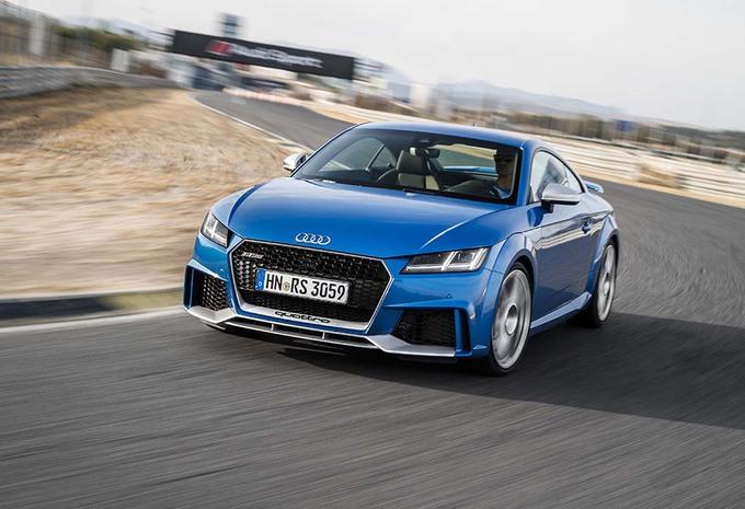 Audi TT RS : Le sport sans suer   #1