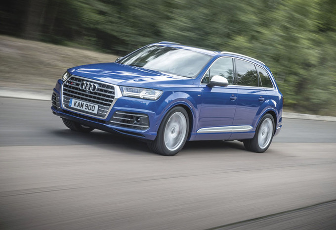 Audi SQ7 : Concentré de muscles #1