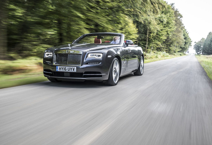 Rolls-Royce Dawn : Exclusieve luxe in open lucht #1